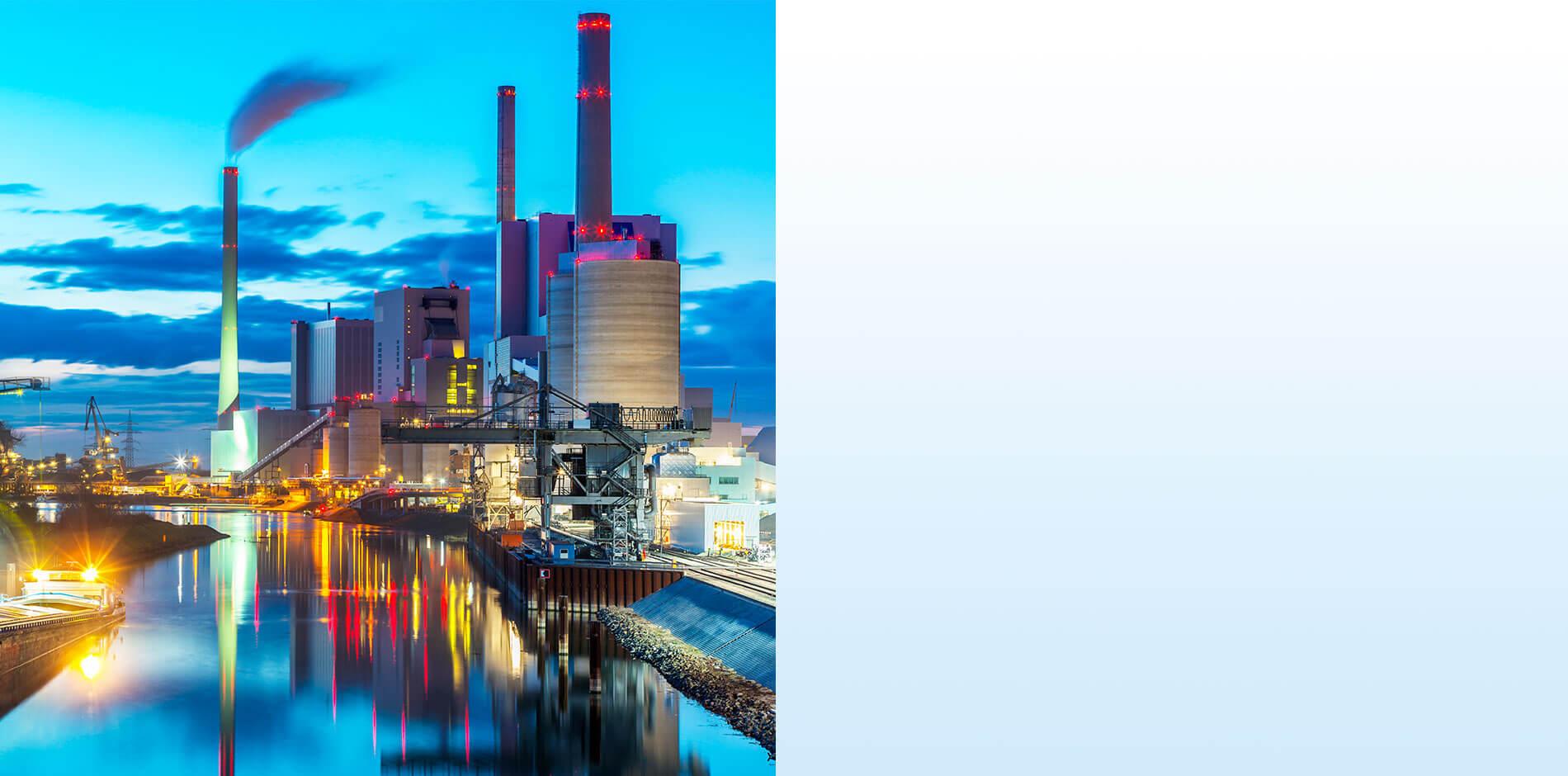 Eficiencia en Energía y Agua: Centrales eléctricas e industria